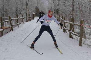 Dobre warunki do biegania na nartach na Wzgórzach Dylewskich