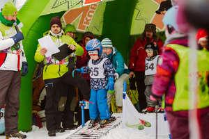 Zawody narciarskie dla najmłodszych na zakończenie ferii