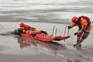Pokaz ratownictwa lodowego w ramach akcji Bezpieczne Ferie 2019