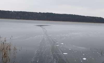 Olecko: Ostrożnie na lodzie!