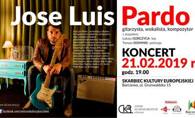Koncert Jose Luisa Pardo w Barczewie