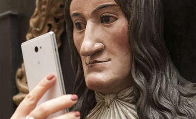 Selfie z Kopernikiem? Czemu nie? Museum Selfie Day