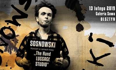 Koncert Sosnowskiego w Galerii Sowa Olsztynie