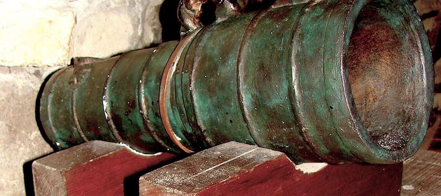 Kurzętnicka bombarda w ekspozycji muzealnej w Kwidzynie