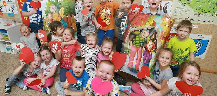 Dzieci Przedszkola Miejskiego nr 19 w Olsztynie