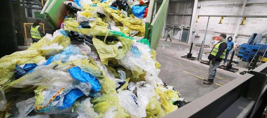 ZGOK Olsztyn śmieci