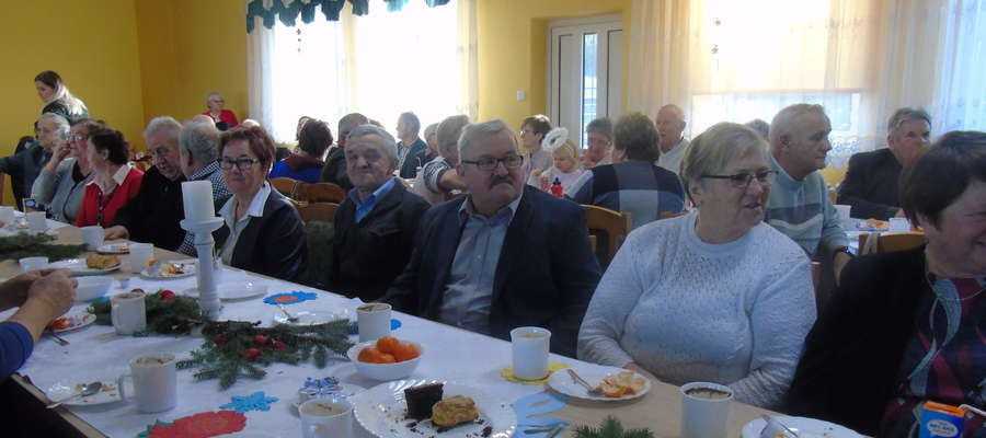 Mili goście na spotkaniu w Gminnym Centrum Kultury w Kurzętniku