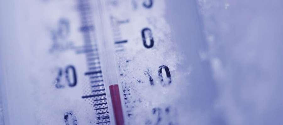 W Gołdapi padł rekord zimna