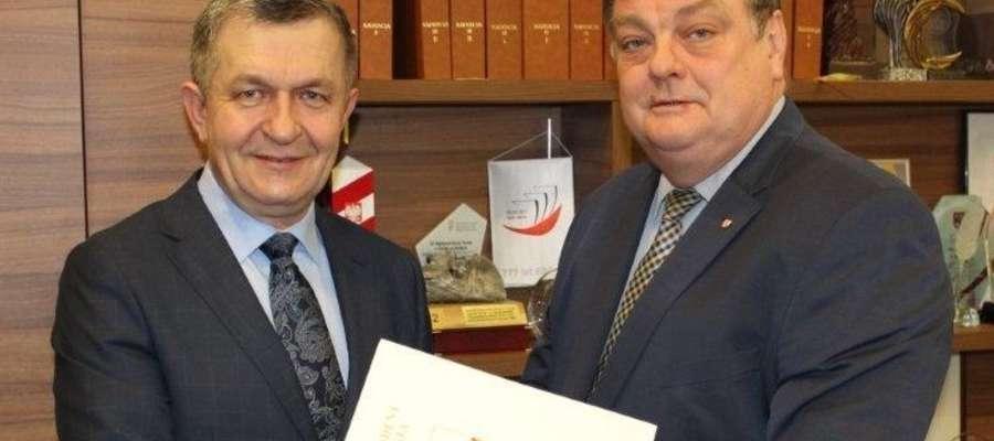 Od lewej: Edward Pietrulewicz oraz Witold Wróblewski