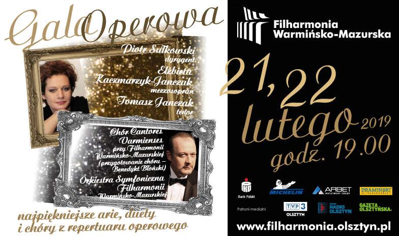 Gala Operowa – arie, duety i chóry - full image