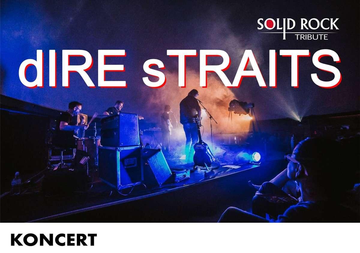SOLID ROCK - tribute Dire Straits band w SOWIE - full image