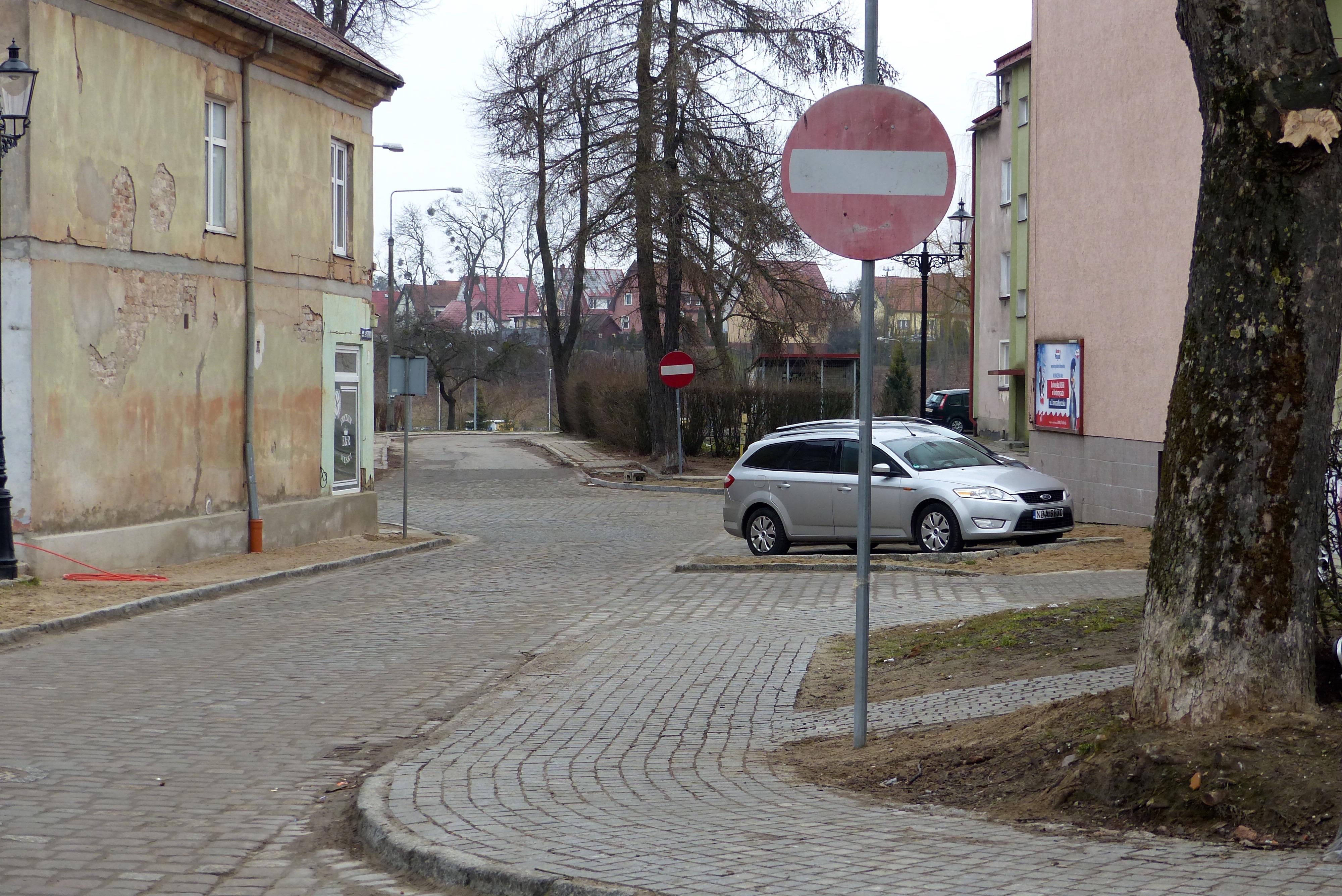 Ulica Mazurska w Bartoszycach