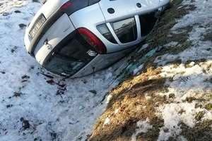 Kolejny wypadek na trasie Działdowo - Kozłowo