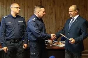 Po  28 latach służby Asp.szt. Sławomir Kaczmarski przeszedł na emeryturę