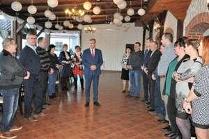 Burmistrz Susza podziękował sołtysom za współpracę [ZDJĘCIA]