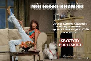 Krystyna Podleska wystąpi w monodramie