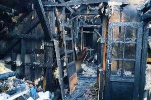 Pożar zabrał im dorobek życia