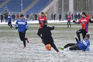 Sokół Ostróda nie zagrał sparingu w Olsztynie na zalanym boisku