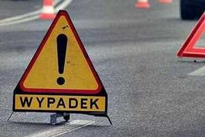 Wypadek na DK 16. Droga jest zablokowana