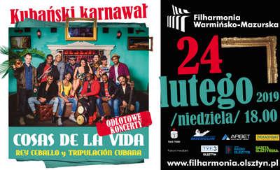 """Odlotowe koncerty - Kubański karnawał - Zespół """"Rey Ceballo & Tripulacion Cubana"""""""