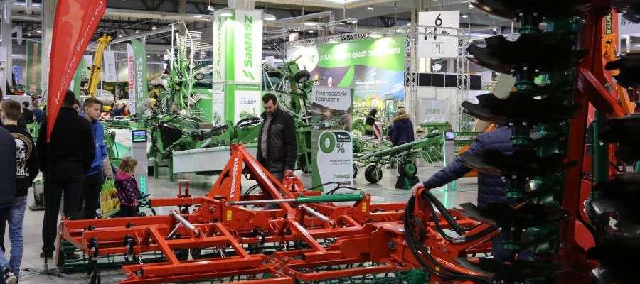na Mazurskim Agro Show będzie mozna obejrzeć maszyny i urządzenia rolniczego wielu firm