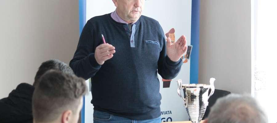 Edmund Oleszkiewicz, prezes piłkarskiego klubu Łyna Sępopol