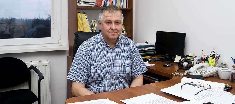 Marek Jarosz, dyrektor Powiatowej Stacji Sanitarno-Epidemiologicznej w Elblągu