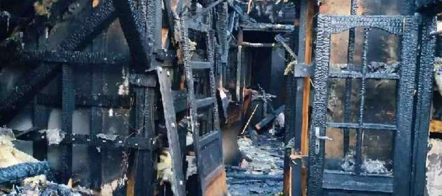 W wyniku pożaru trzy rodziny straciły dorobek swojego życia
