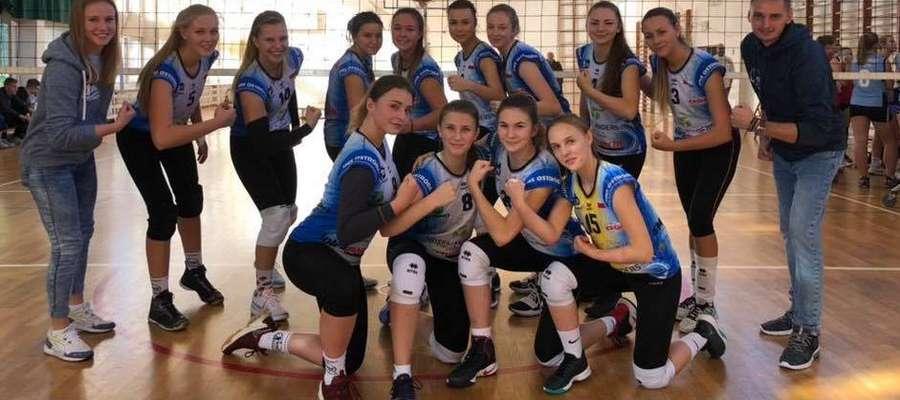 Juniorki SMS Ostróda słabo rozpoczęły turniej ćwierćfinałowy mistrzostw Polski