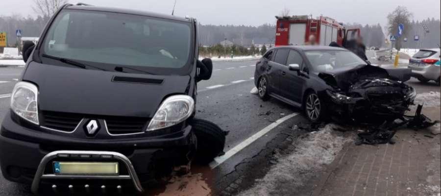 Do wypadku doszło na DK 53