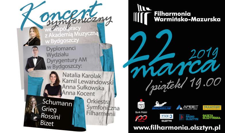 Koncert symfoniczny we współpracy z Akademią Muzyczna w Bydgoszczy - full image