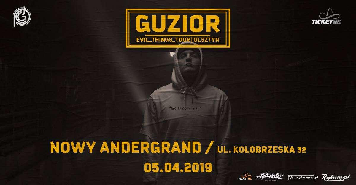 Guzior w Olsztynie - Nowy Andergrant 5.04.2019 - full image