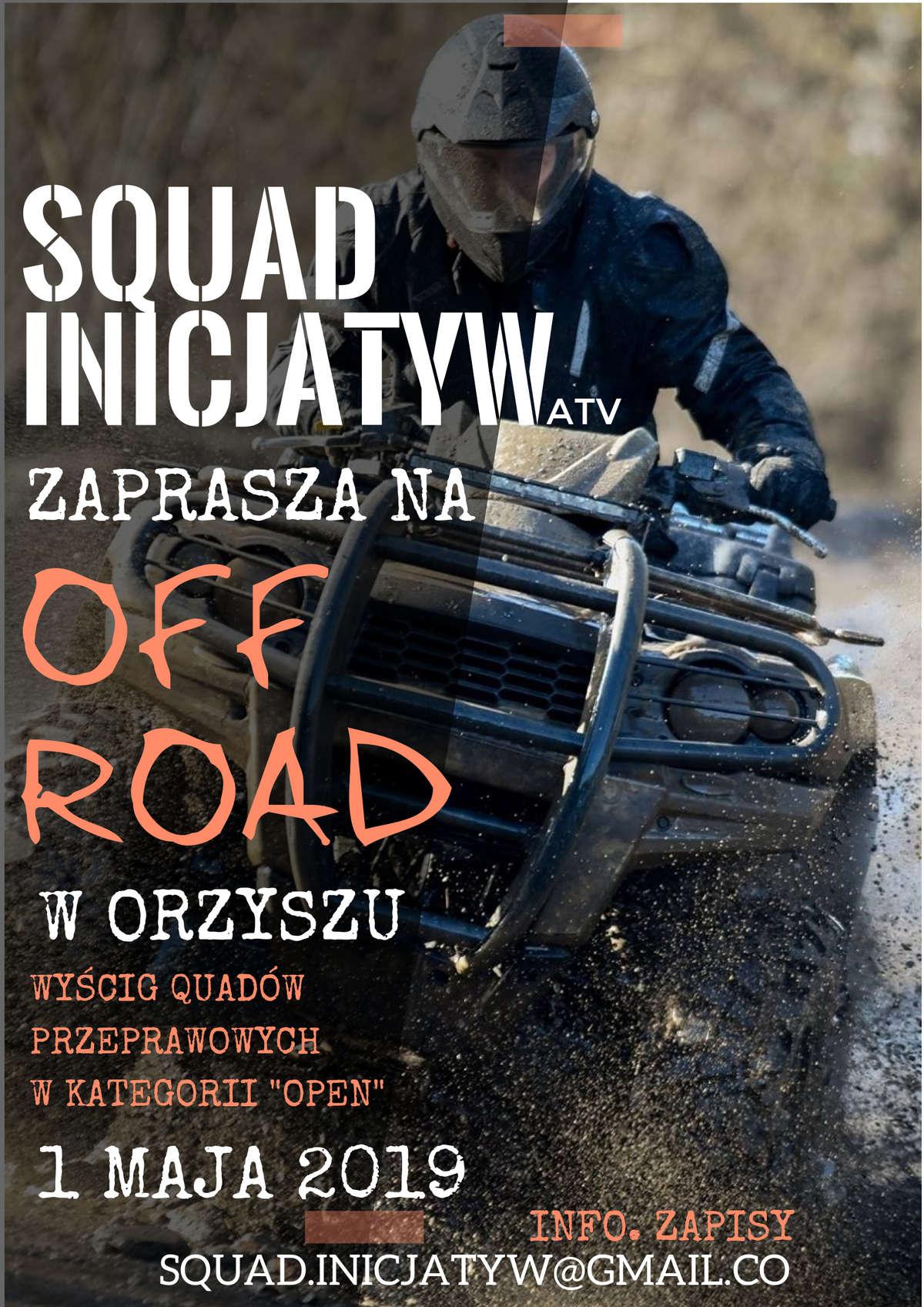 Wyścigi quadów. OFF Road w Orzyszu - full image
