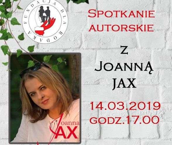 Spotkanie autorskie z Joanną Jax - full image