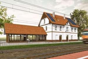 Dworzec w Suszu do przebudowy. Rusza przetarg [WIZUALIZACJA]