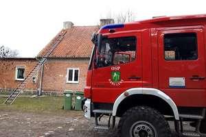 Pęknięty przewód kominkowy przyczyną pożaru