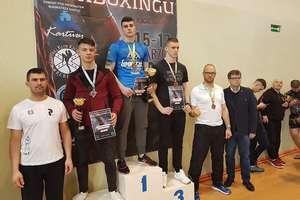 Michał Kuźniak mistrzem Polski w kickboxingu w formule kick light