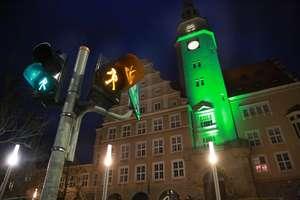 Dziś wieczorem olsztyński ratusz rozbłyśnie na zielono