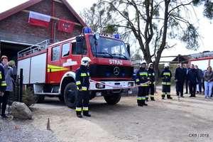 Uroczyste przekazanie wozu strażackiego dla OSP w Barczewku [ZDJĘCIA]