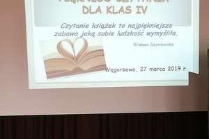 Międzyszkolny Konkurs Pięknego Czytania