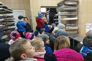 Przedszkolaki z Galin poznały pracę piekarzy