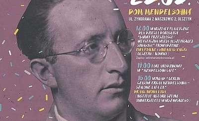 W Olsztynie uczczą urodziny Mendelsohna