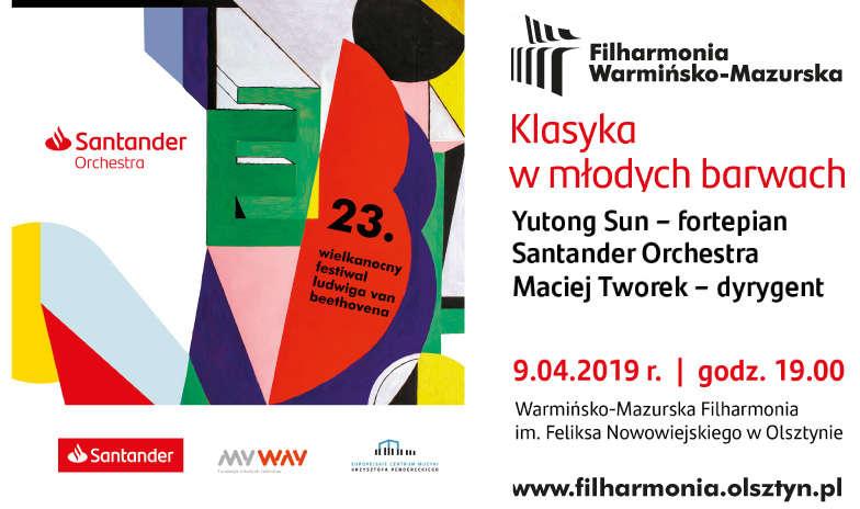 Koncert 23.Wielkanocnego Festiwalu Ludwiga van Beethovena w Olsztynie   - full image