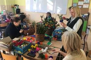 Wielkanocne warsztaty w szkole w Żydowie