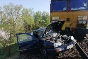 Wypadek na przejeździe kolejowym. Aktualizacja