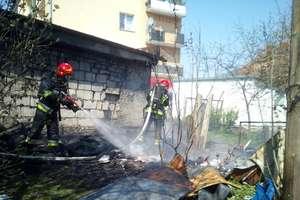 Niepozorne prace porządkowe zakończyły się pożarem