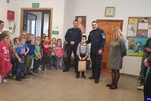 8-latek z Lipowiny odebrał wyróżnienie w Komendzie Głównej Policji