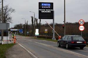 Uwaga kierowcy! Utrudnienia na przejściu granicznym w Gronowie