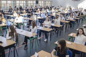 Trwają egzaminy ósmoklasistów. Dzisiaj matematyka.