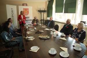 SuperSołtysi powiatu bartoszyckiego spotkali się w starostwie
